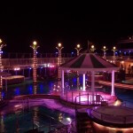 Norwegian Jade at Night